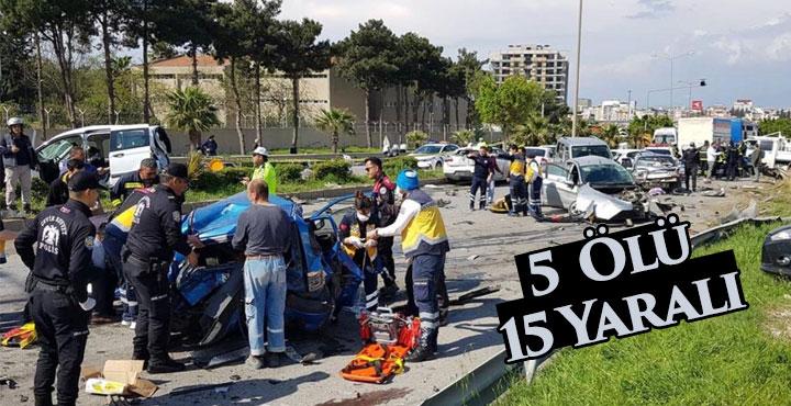 Feci kazada ilk bilanço; 5 ölü, 15 yaralı