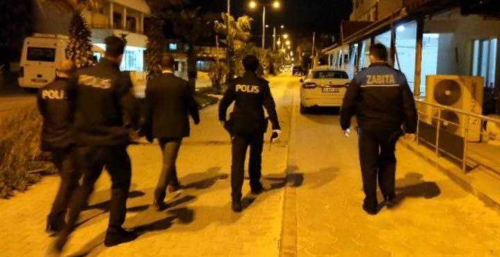 Polis ve Zabıta'dan gece denetimi