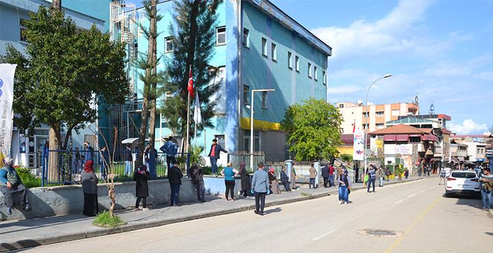 Kırıkhan'da Sosyal İzolasyon Çalışmaları