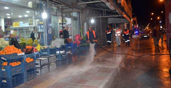 Kırıkhan Caddeleri ikinci kez sabunla yıkandı