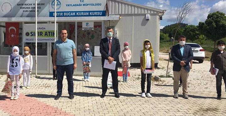Büyükelçi Serdar Cengiz, Kaymakam Yılmaz'ı Ziyaret Etti