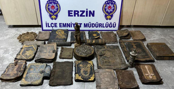 Erzin'de Tarihi Eser Kaçakçılığı Yapan Şahıslar Yakalandı