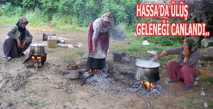 """Hassa'da """"ÜLÜŞ"""" Geleneği Yeniden Canlandı"""
