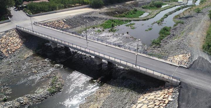 HBB'nin Hatay'a Kazandırdığı 23.Köprüde Asfalt Çalışması Tamamlandı