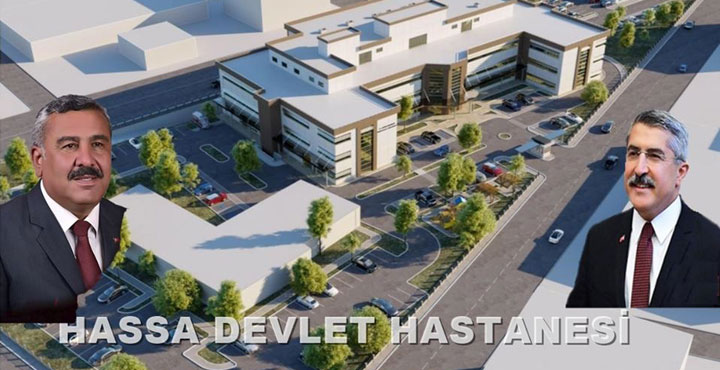 Hassa Devlet Hastanesi Yapım İşi İhaleye Çıkarılıyor