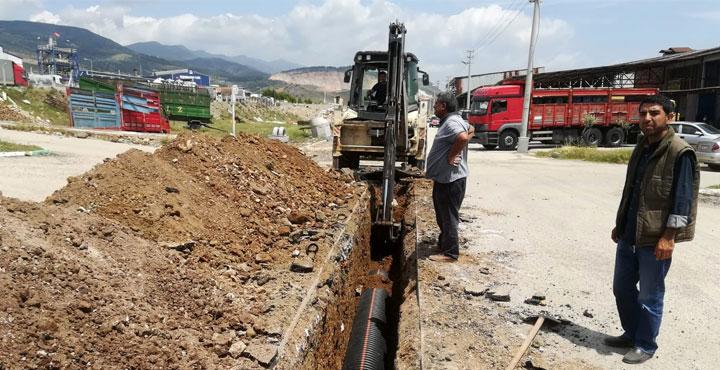 Kırıkhan'da Atık Su İhtiyaçları Karşılanıyor