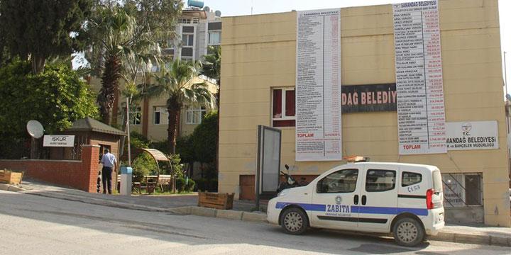 Gelir – Gider Tablosu Belediye Binasına Asıldı