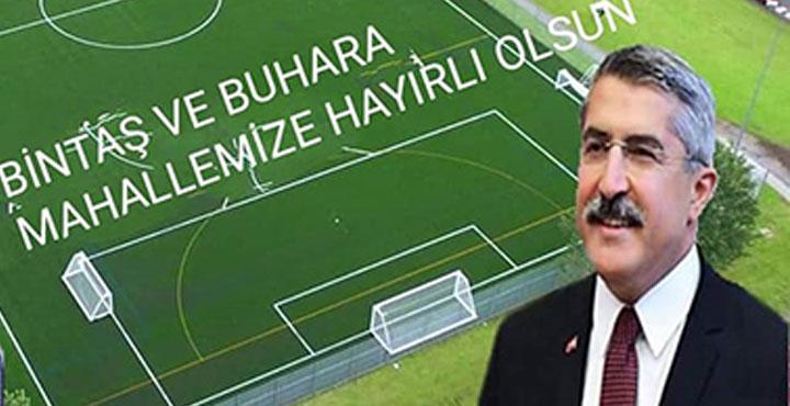 Hassa ve Kırıkhan'a Halı Saha Müjdesi