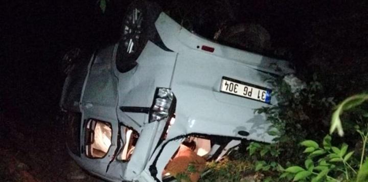 Uçuruma devrilen araçta, 3 kişi öldü