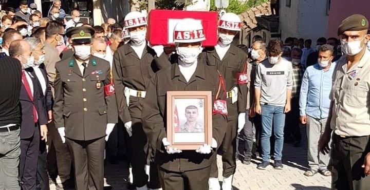 Şehit Piyade Er Mehmet Günay Sonsuzluğa uğurlandı