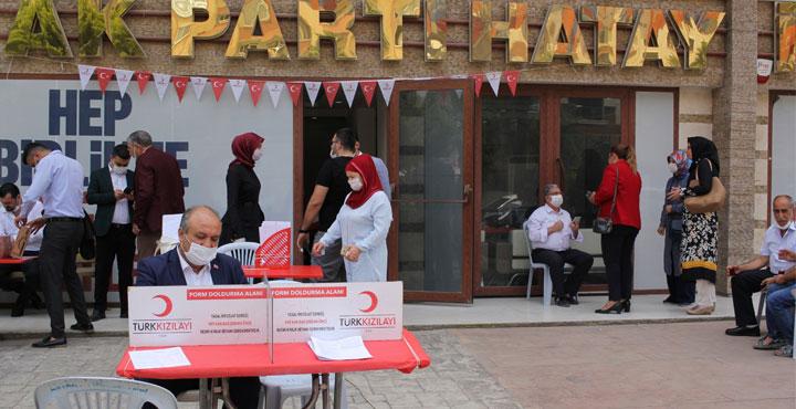 AK Parti'den Kan Bağışı Farkındalığı