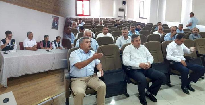 Hassa'da İstişare ve Bilgilendirme Toplantısı