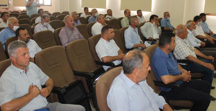 Hassa'da Tarım Faaliyetleri Masaya Yatırıldı