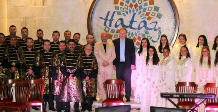 Medeniyetler Korosundan Hatayspor'a marş sürprizi