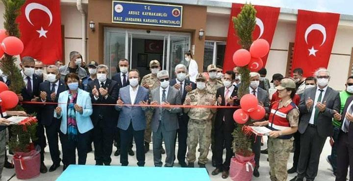 Stratejik Noktadaki Kale Karakolu Törenle Hizmete Açıldı