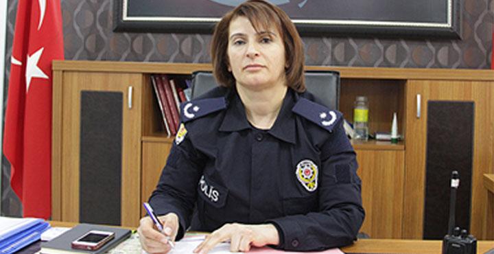 Samandağ İlçe Emniyet Müdürlüğüne Asuman Karacık Atandı