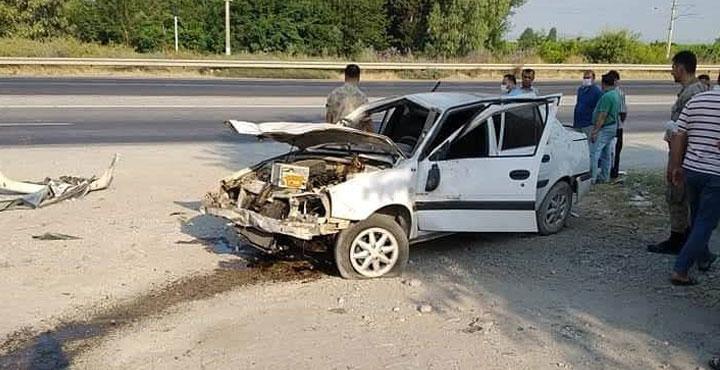 Erzin'de Meydana Gelen Trafik Kazasında 1 Kişi Yaralandı
