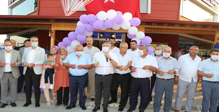 """Hassa """"Zeytindalı Sosyal Tesisleri-(Kaptan -Kafe)"""" Hizmete Açıldı"""