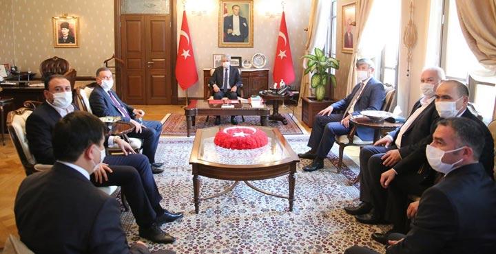 Kazakistan Büyükelçisi Abzal Saparbekuly Hatay'da