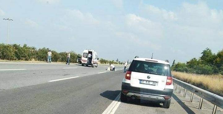 Otomobilin Çarptığı Bayan Hayatını Kaybetti