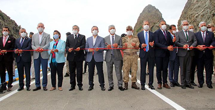 Samandağ-Arsuz Yolu Törenle Açıldı