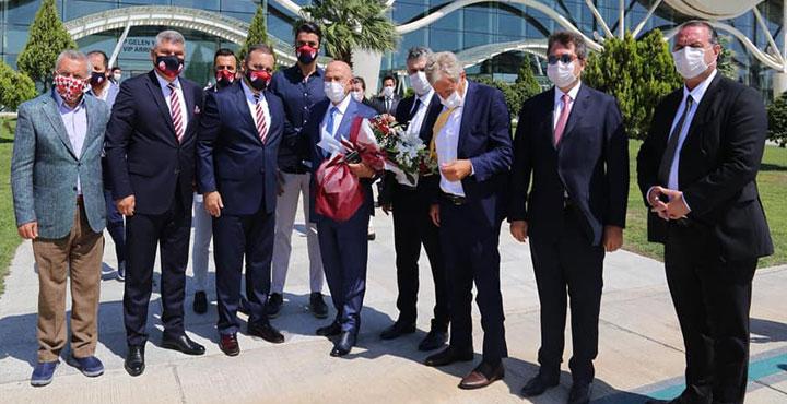 TFF Başkanı Nihat Özdemir Hatay'da