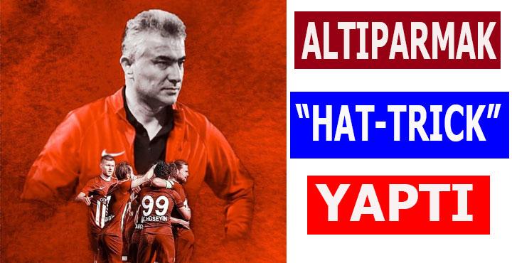 Teknik Direktör Mehmet Altıparmak Hat-Trick Yaptı