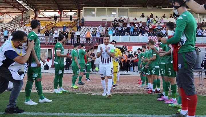 Şampiyon Hatayspor Bursaspor'u 3-1 mağlup etti