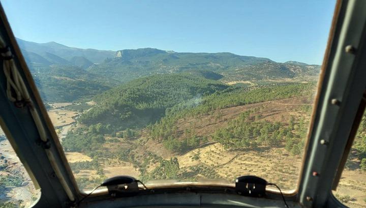 Kırıkhan'da orman yangını