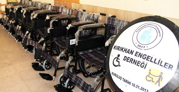 Şırnak'ta görev yapan uzman çavuşlardan engellilere destek