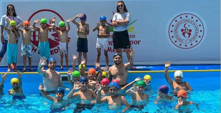 Gençlik ve Spor Bakanlığından Kırıkhan'a Yüzme Havuzu