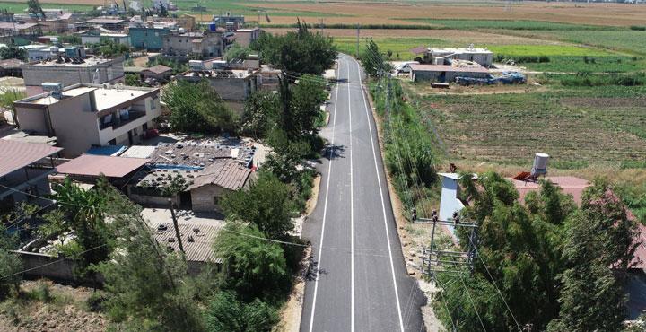 Reyhanlı Nergizli mahallesinde Asfalt Çalışması Tamamlandı
