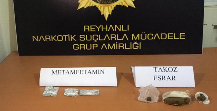 Reyhanlı'da Uyuşturucu Ticareti Yapan 3 Kişi Yakalandı