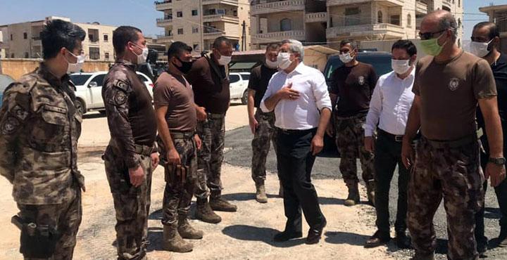 Milletvekili Yayman Afrin'deki güvenlik güçlerini unutmadı