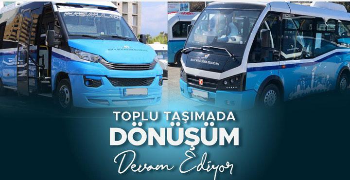 Toplu taşımada Hassa, Payas ve Antakya-Defne ilçelerinde revizyon