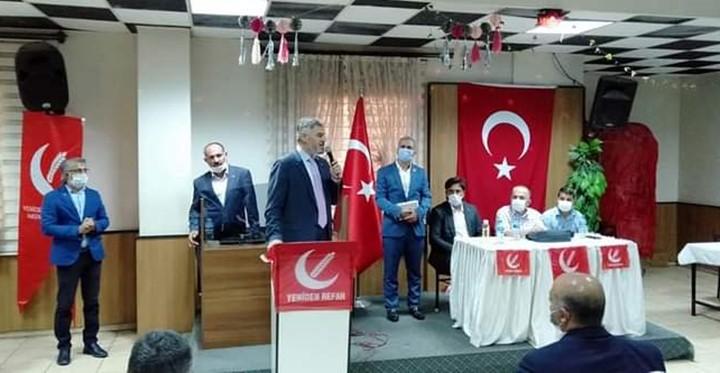 Yeniden Refah Partisi aylık Divan Kurulu toplantısı gerçekleştirdi