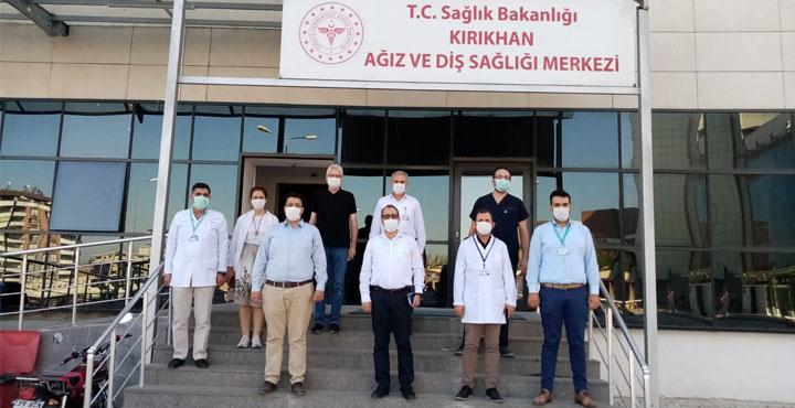 İl Sağlık Müdürü Hambolat Kırıkhan Sağlık Tesislerini Ziyaret Etti