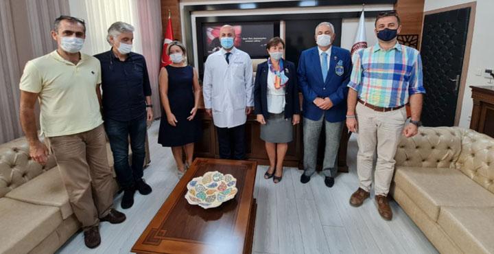 Antakya Defne Rotary Kulübü'nden, Covit-19 İle Mücadeleye Büyük Destek!