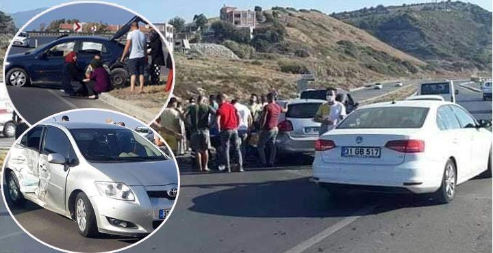 Arsuz-İskenderun Karayolunda Kaza; 3 Yaralı