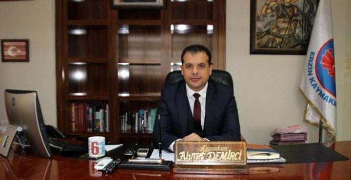 Erzin Kaymakamı Ahmet Demirci, FETÖ soruşturması kapsamında açığa alındı