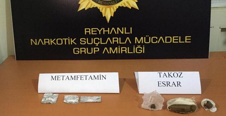 Reyhanlı'da 2 ayrı Adrese Uyuşturucu Operasyonu