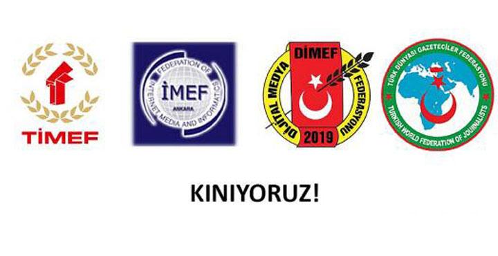 Türk Dünyası ve Anadolu Medya Federasyonlarından Yunan Basınına kınama