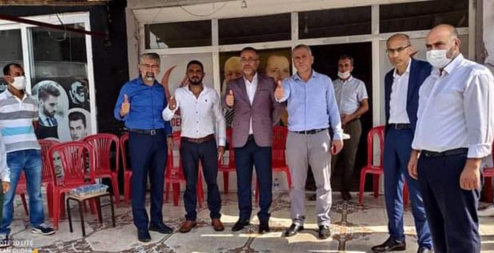 Yeniden Refah Partisi Kumlu ilçe başkanı Ali Kemal Güder oldu