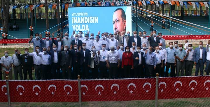 AK Parti Yayladağı 7. Olağan Kongresi gerçekleştirildi