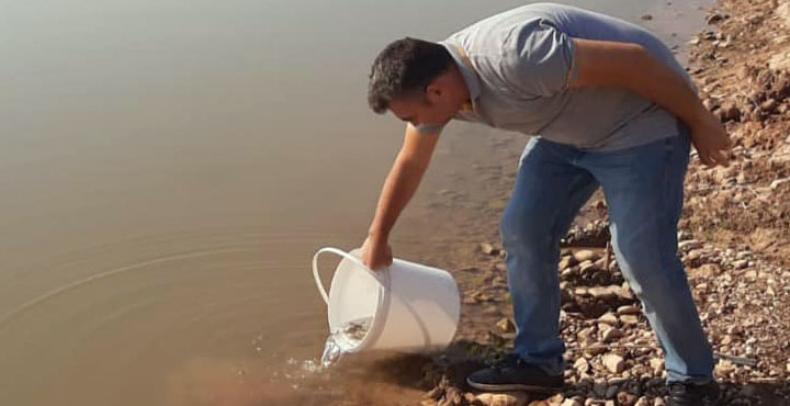 Hatay'daki göletlere 94 bin adet sazan yavrusu bırakıldı