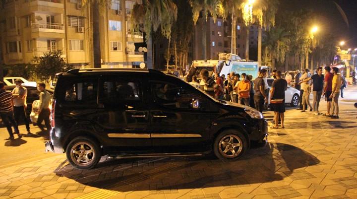 9 aracın karıştığı Kaza anı güvenlik kameralarına yansıdı