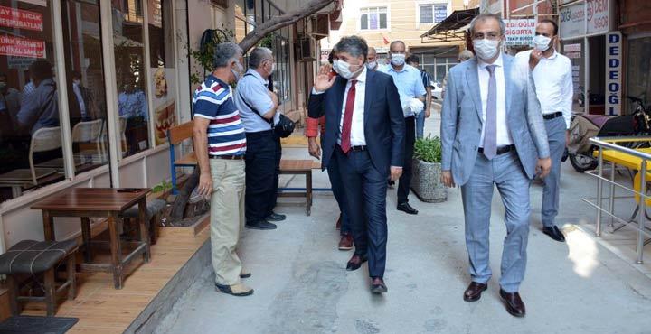 Kırıkhan'da Kovid-19 denetimi