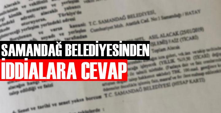 """Samandağ Belediyesi """"Parsel satışı"""" iddialarına cevap verdi"""