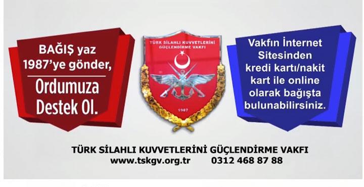 Türk Silahlı Kuvvetleri Güçlendirme Vakfı 33 yaşında