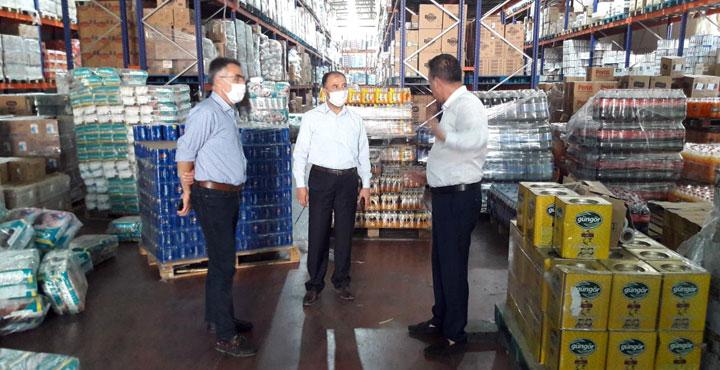İl Müdürü fabrikalardaki denetimlere katıldı